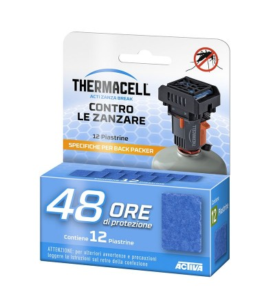 Thermacell Backpacker recharges 48 heures