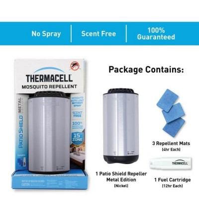 ThermaCELL Mini Halo Metal - Mosquito repellent